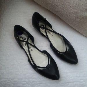 ANNE Klein SPORT Ballet FLATS SZ 8 1/2